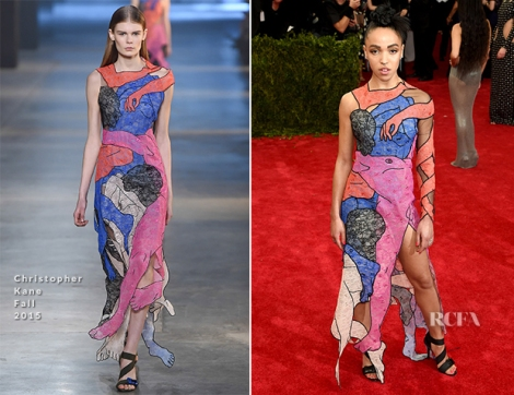 FKA-Twigs-In-Christopher-Kane-2015-Met-Gala