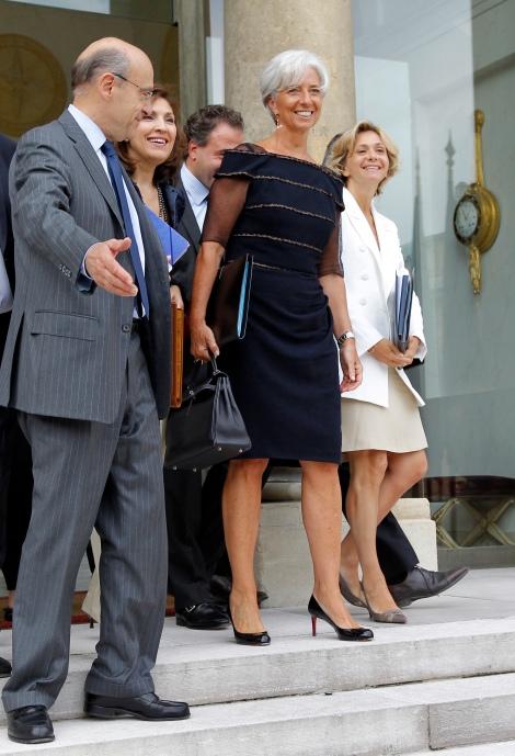 France's former Finance minister Christi